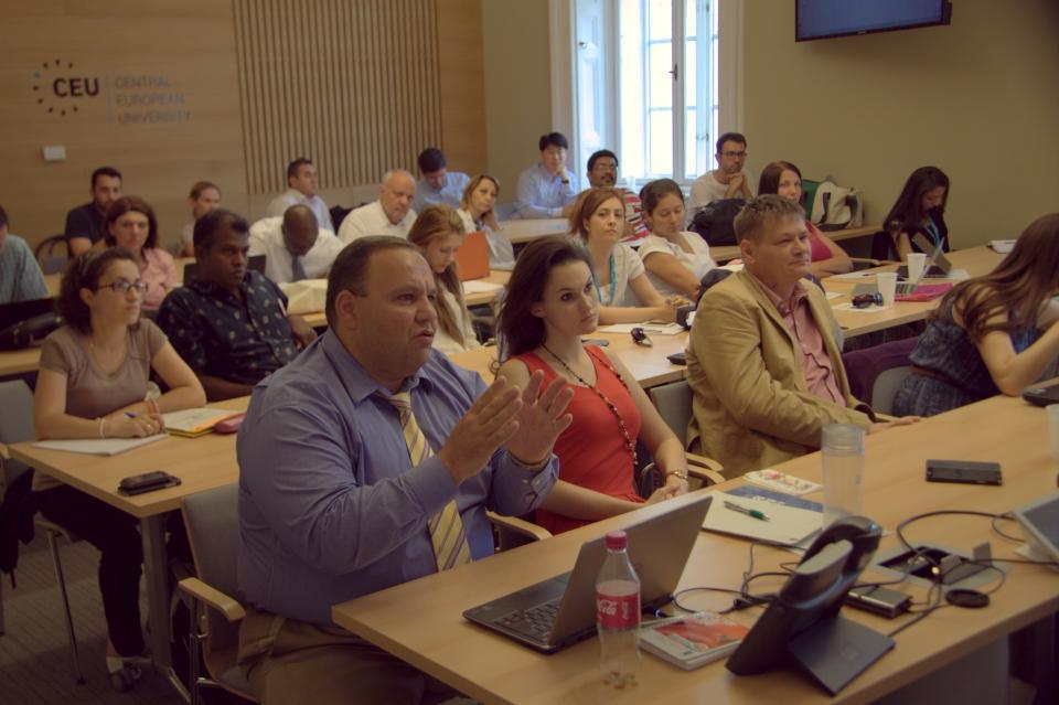 ISEPEI / UNDP Joint ICT for DRR workshop - Armen Grigoryan, Emily Nilson